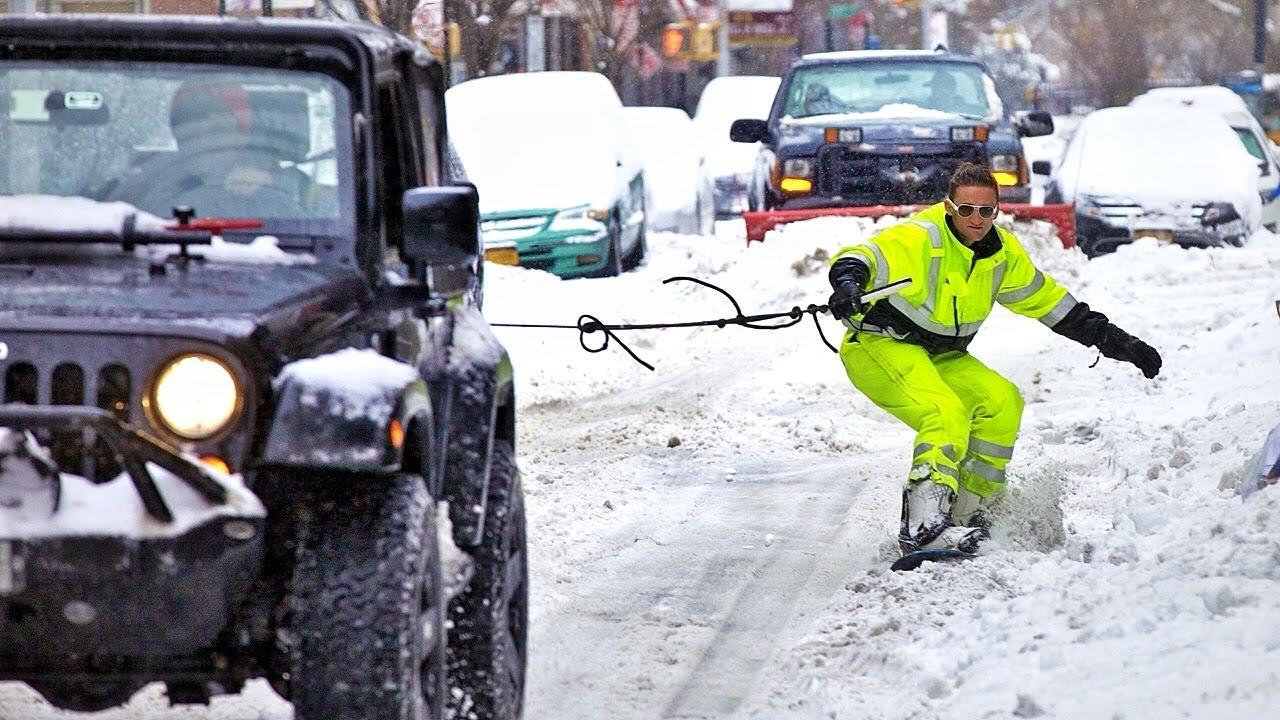 snowbarding new york city